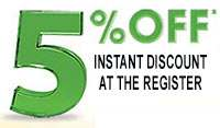 5% Instant Discount