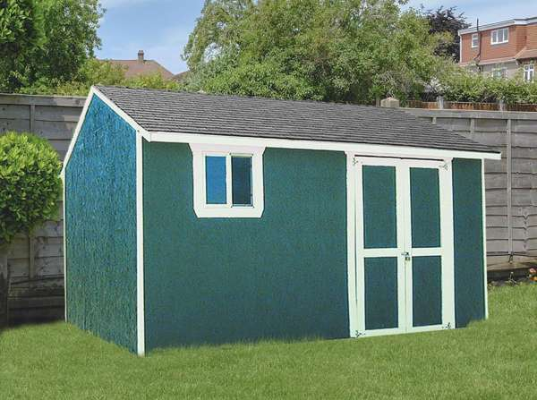YardStar Garden House Packages from Sutherlands have everything you need for a complete storage shed including windows, doors, roofing and more.