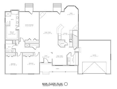 The Alta House Package Floor Plan