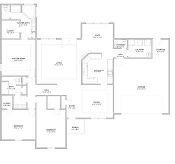 The Brittain House Package Floor Plan