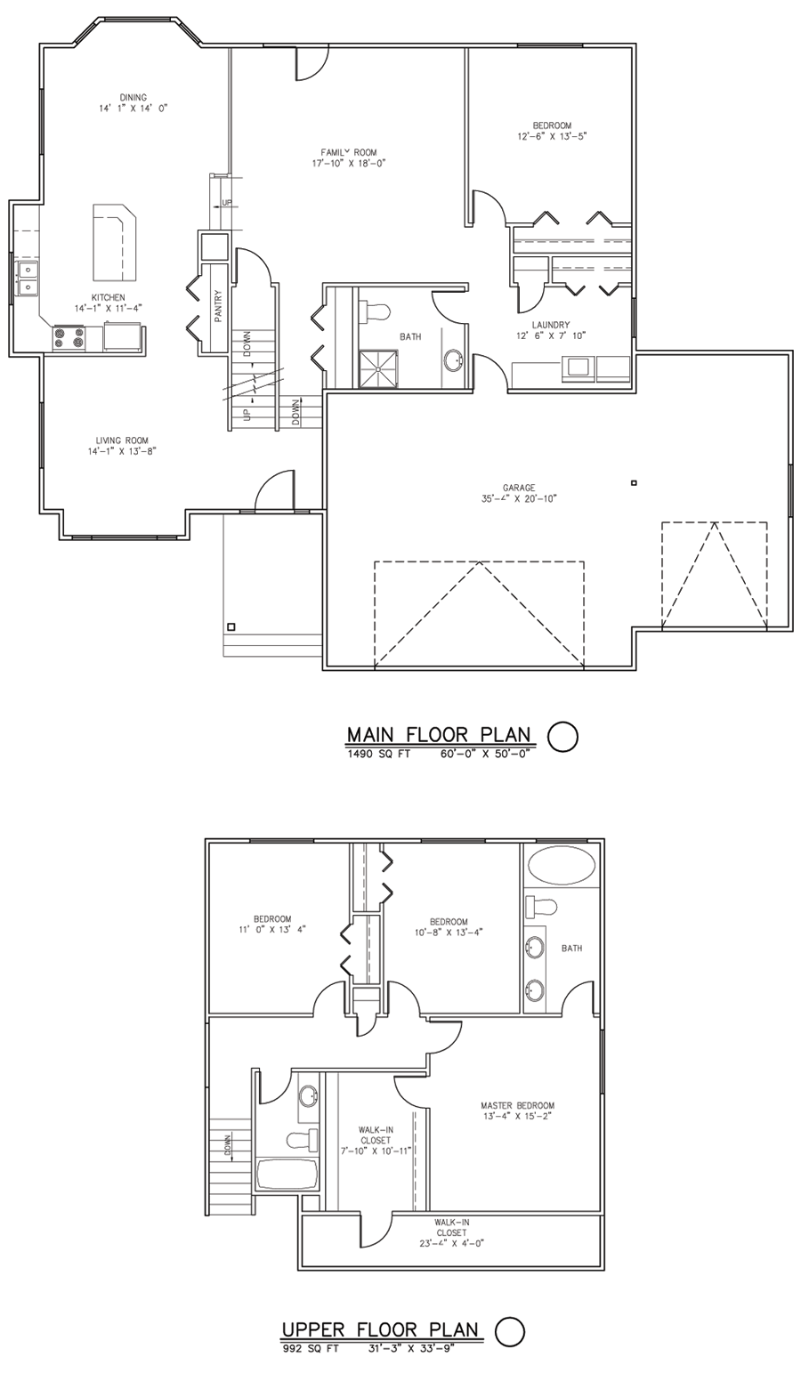 The Brittany Home Package 4 Bedroom 3 Bath Sutherlands