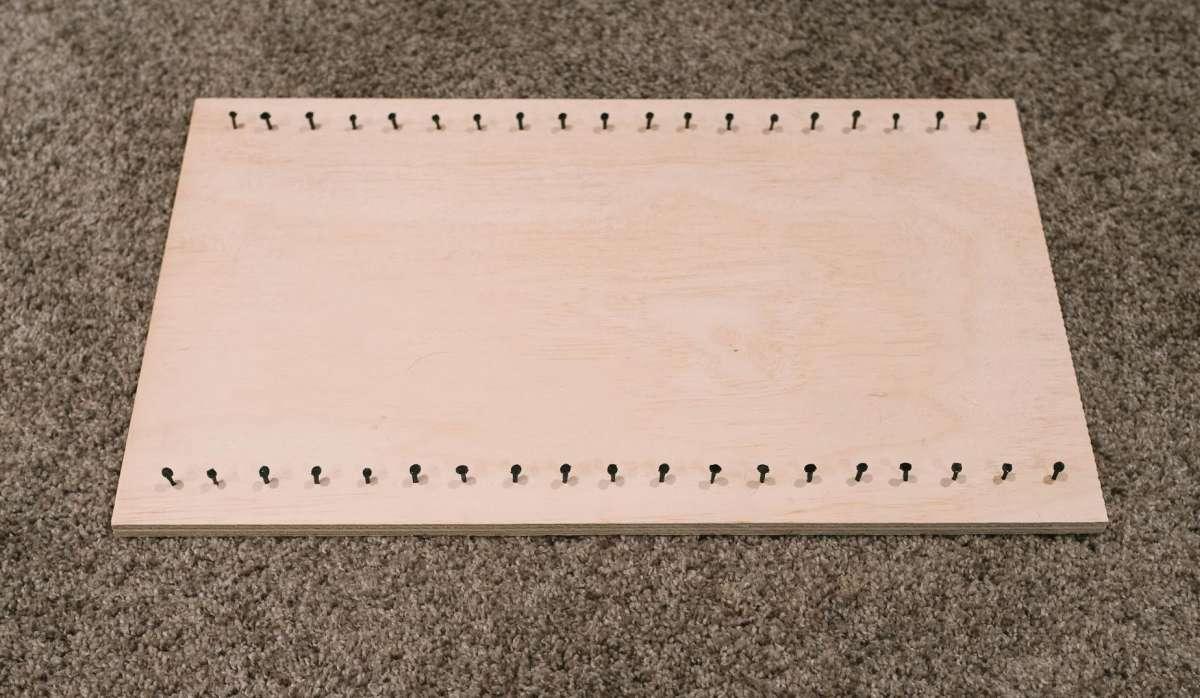 DIY MInimalist Memo Board 03