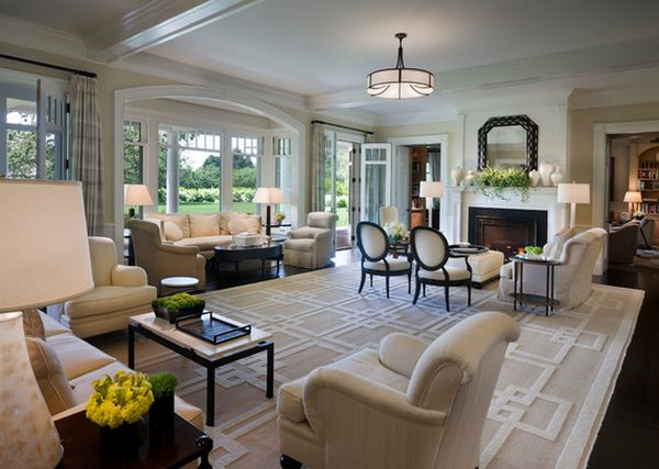 How to style a large living room sutherlands blog - Large living room furniture placement ...