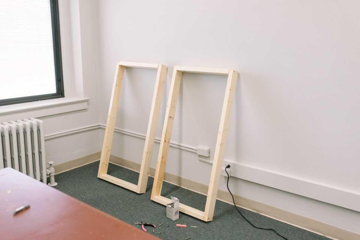 2 completed frames