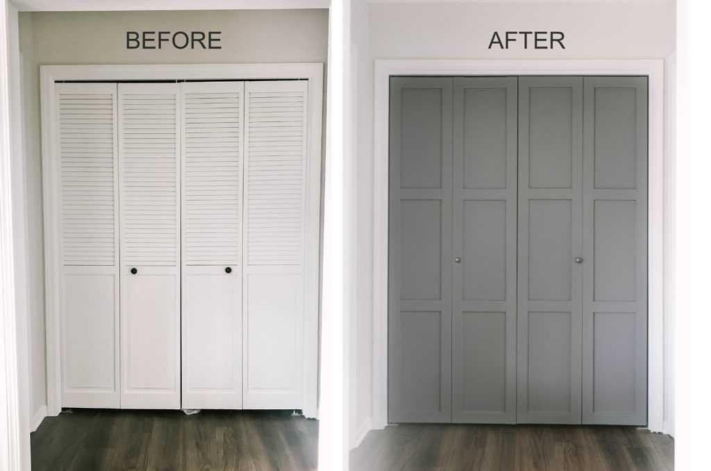 DIY Bifold Doors