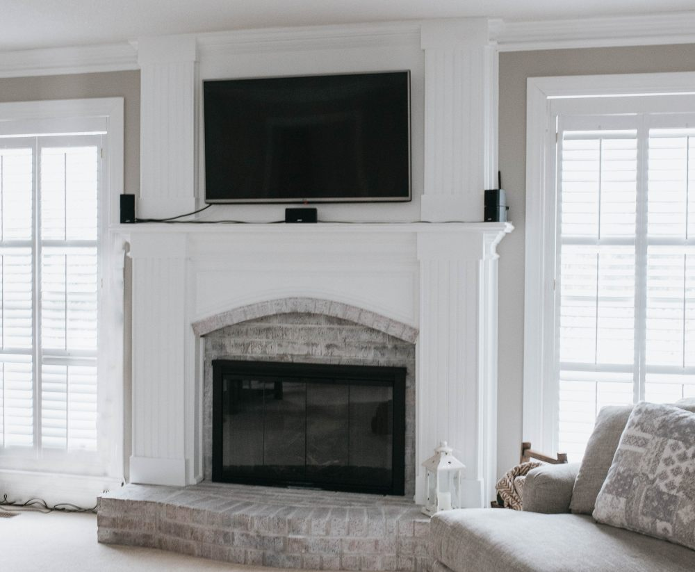 Fireplace Makeover!