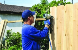 Photo: How to Plan for Building a New Fence