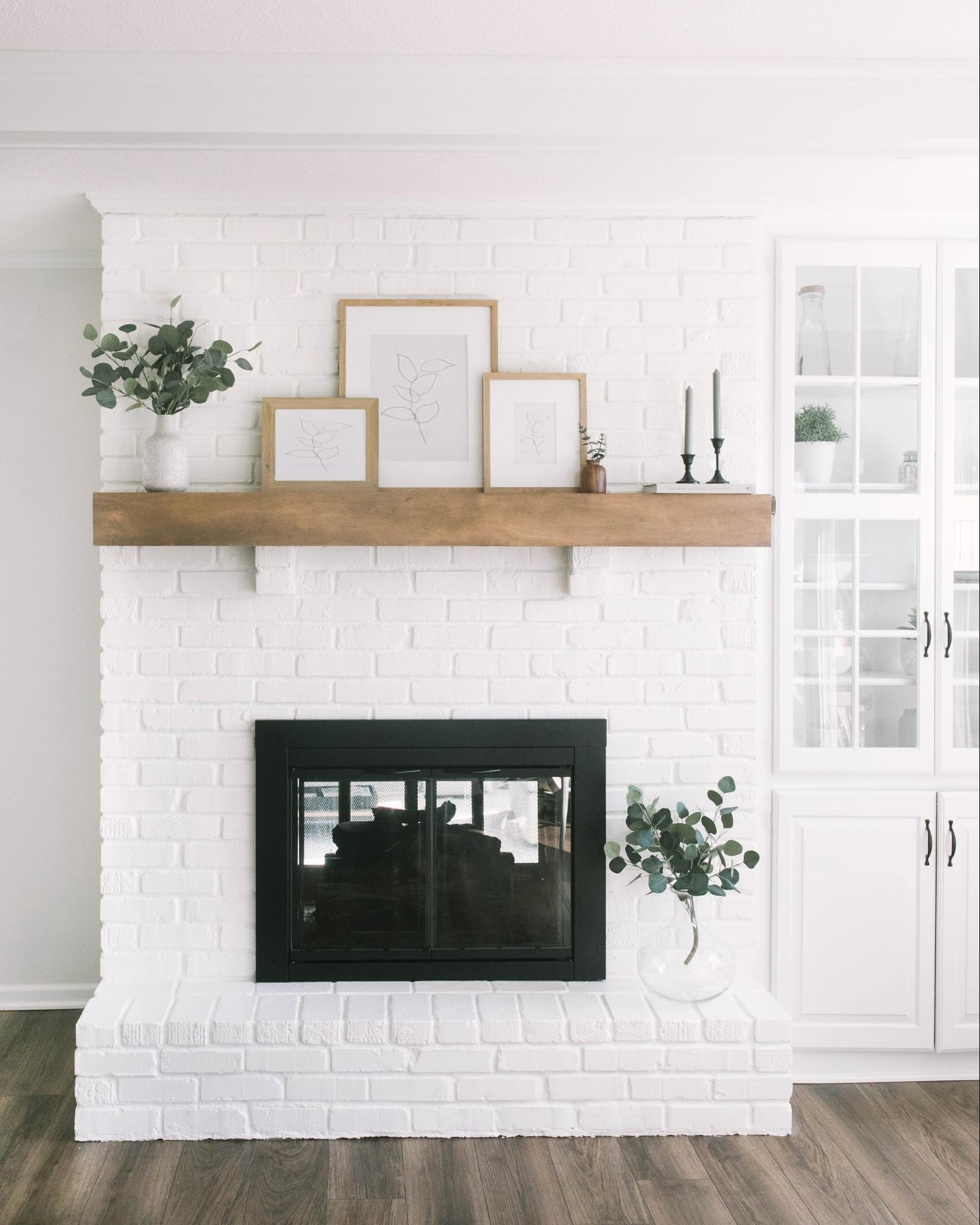 Photo: Paint Your Brick Fireplace