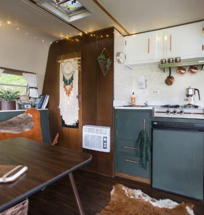 Photo: Transforming a Camper