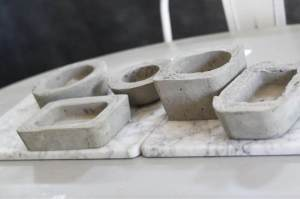 Photo: Make Some Small  Minimalistic Concrete Planters!