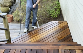 Photo: How to Maintain a Deck