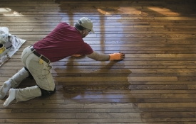Photo: How to Refinish Hardwood Flooring