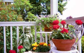 Photo: Container Gardening Benefits Include Gardens Without Yards