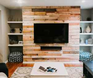 Photo: Build a Ship-lap Pallet Wall