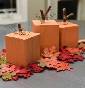 Photo: A Cute Thanksgiving Centerpiece