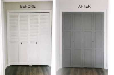 Photo: DIY Bifold Doors