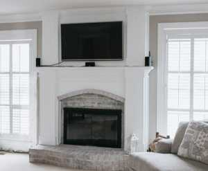 Photo: Fireplace Makeover!