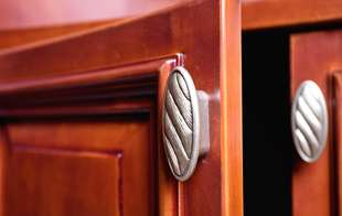 Get cabinet knobs and pulls in many styles and finishes for your kitchen or bathroom from Sutherlands Home Improvement.