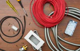 Sutherlands is your source for rough electrical supplies like wire, conduit, fittings, cover plates and more.
