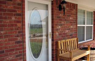 Storm and screen doors in a variety of styles and sizes from top manufacturers are available from Sutherlands Home Improvement.
