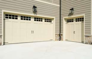 Sutherlands carries garage doors in many different sizes and styles to match your home, as well as garage door openers.