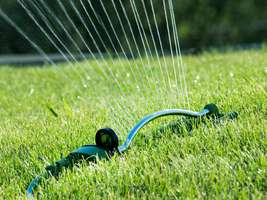 Sutherlands has garden sprinklers and hoses, plus all the accessories you need.