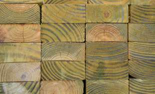 Get treated lumber including decking and landscape timbers from Sutherlands.