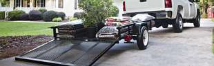 Sutherlands can help you haul things with our selection of trailers and trailer accessories.