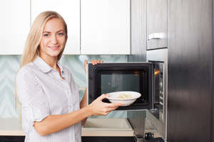 Microwave ovens and other kitchen appliances are available from Sutherlands Home Improvement stores.
