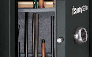 Sutherlands carries a selection of gun safes in various sizes.