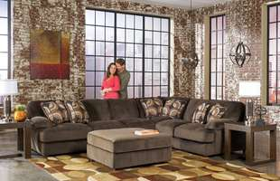 Sutherlands can help you make your family room comfortable with sofas, chairs, coffee tables and more.