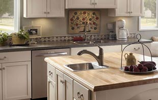 Sutherlands can help you choose custom order cabinets with a large selection of styles, woods and finishes.