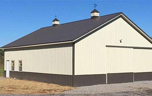 The experts at Sutherlands can help you plan a post frame building or pole barn, and they have everything you need to build it.