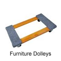 Moving furniture is much easier with a dolly. Sutherlands carries a variety of types.
