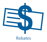 See what rebates are available to save money on items from Sutherlands Home Improvement.