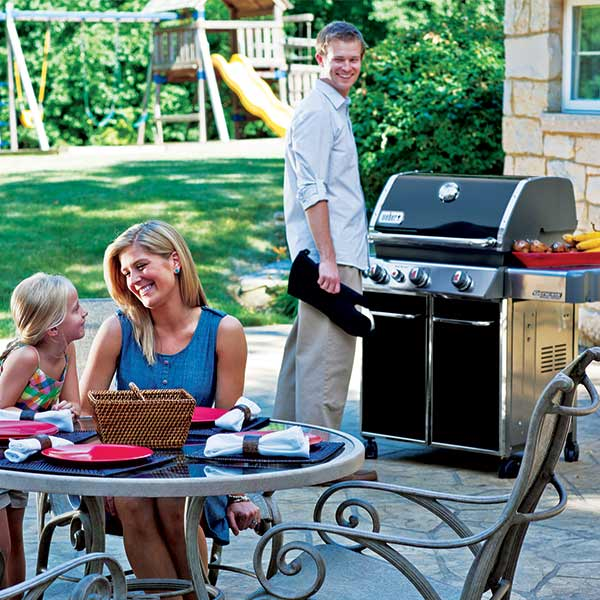 Outdoor Cooking with Weber Grill