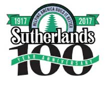 100 year anniversary for Sutherlands