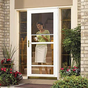Storm doors improve your curb appeal
