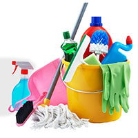 Sutherlands carries many different cleaning supplies
