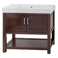 Prefinished and Unfinished Bathrrom Vanities are In-stock