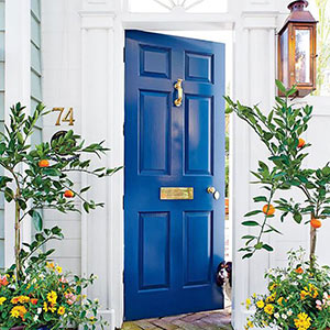 Add some curb appeal with new paint