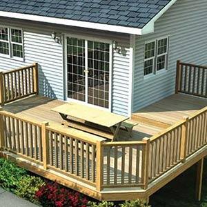 Build a backyard deck