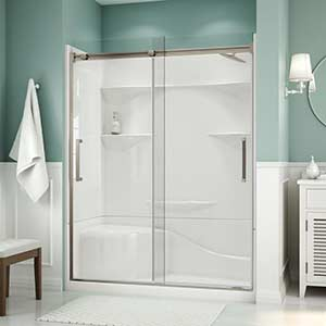 Attractive and durable tub and shower walls and surrounds.