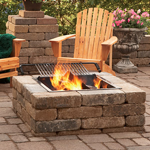 Attractive and durable outdoor decor.