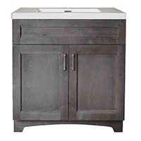 A huge selection of vanities