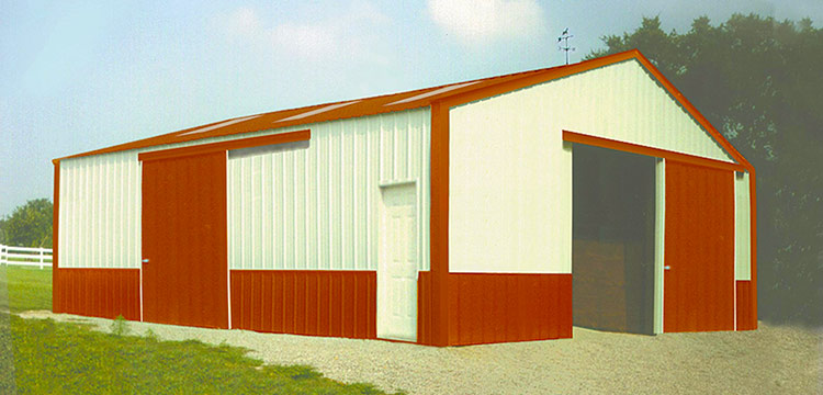 Deluxe Post Frame Building Packages Amp Pole Barns Sutherlands