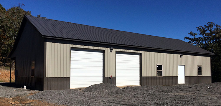 Suburban Post Frame Garage Packages From Sutherlands