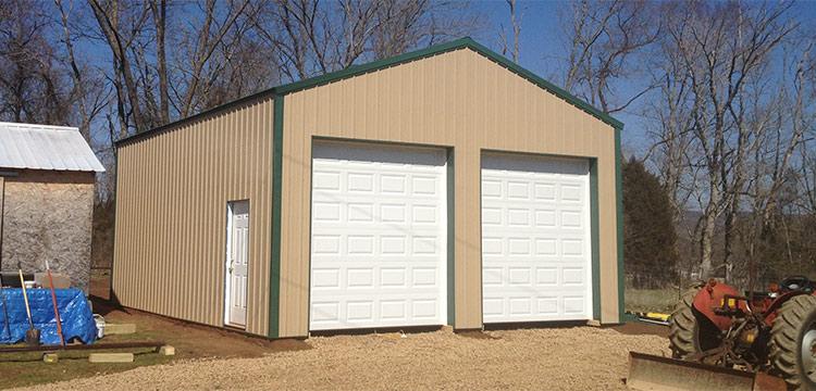 Sutherlands Post Frame Garage Package
