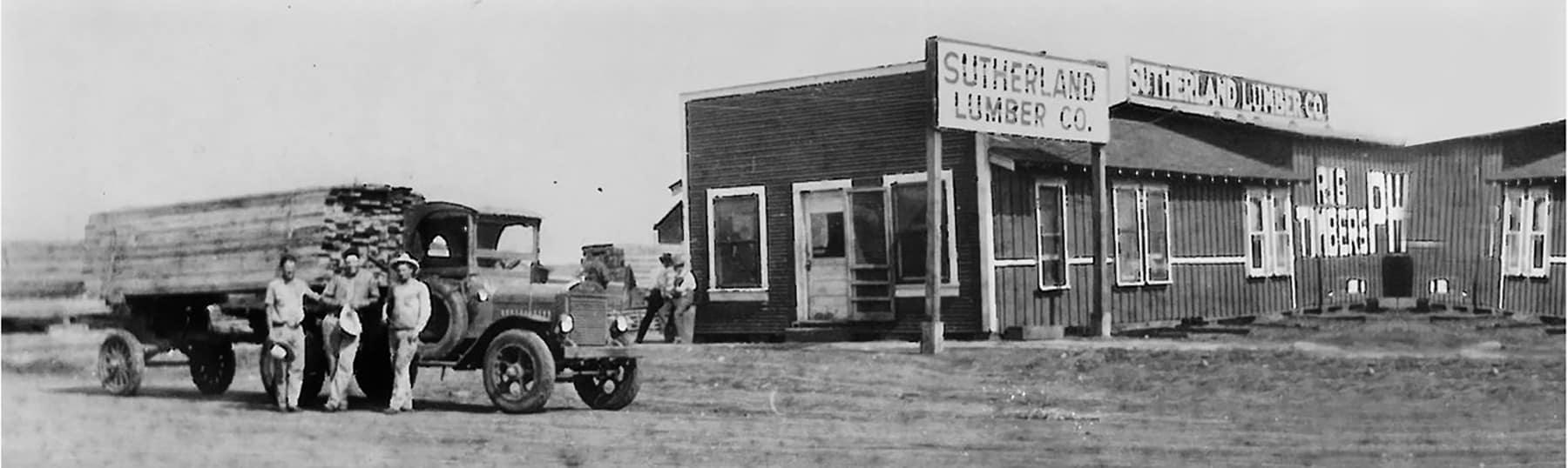 Old Sutherland Lumber