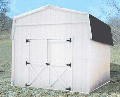 Neak simple wood shed plans menards rebate learn how for Pre manufactured trusses